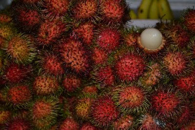 Fruit stalls in China Town market, KL