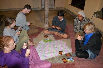 Evening game of Dixit at Pun Pun