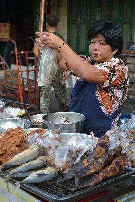 Food in China Town, Bangkok