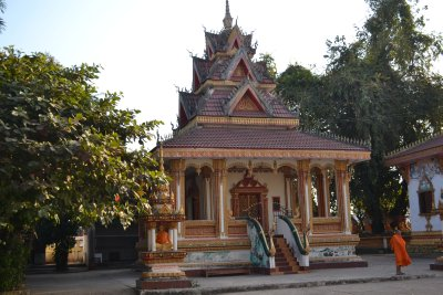 Buddhist temple, Vientiane