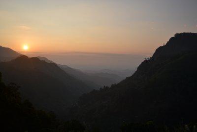 Ella Gap at the sun rises
