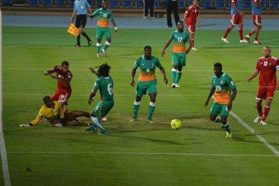 Morocco v Ivory Coast, 2014 Qualifier match