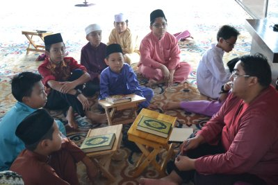 Class in mosque