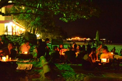Babylon reggae bar on the beach