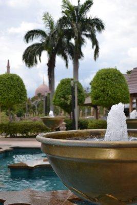 Putrajaya Mosque and gardens