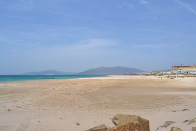 Tarifa beach - too windy to sunbathe