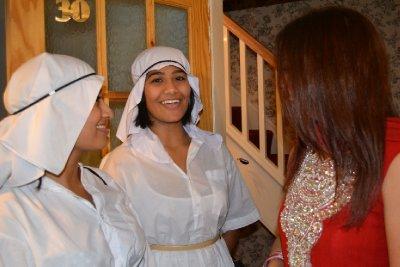 Raj and sister - arab ladies