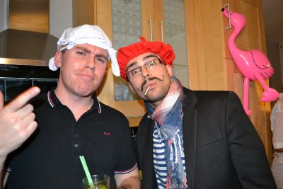 Fancy dress at leaving party