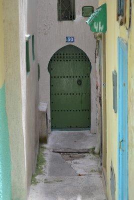 Tangier medina doors