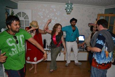 Leaving party dance