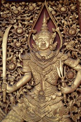 Temple in Chiang Mai - doors