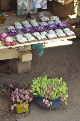 Flower seller poser