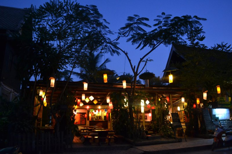 Luang Prabang in the evening