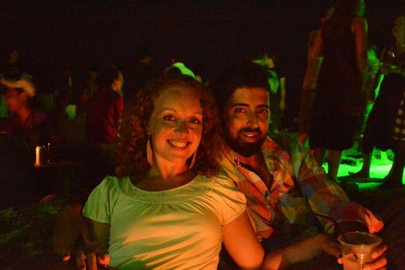 Us at Babylon reggae bar