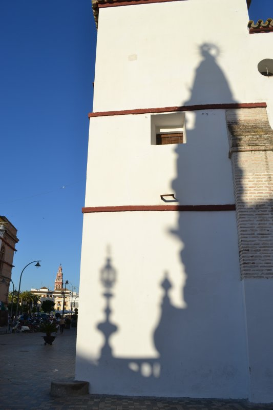 Ecija shadows in the late afternoon sun
