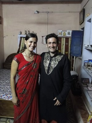 Invites chez Roni a Gwalior