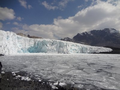 Le glacier de Pastoruri