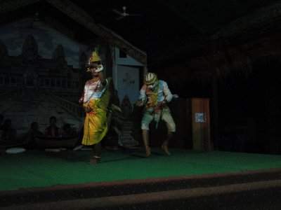 Danse traditionnelle Khmere