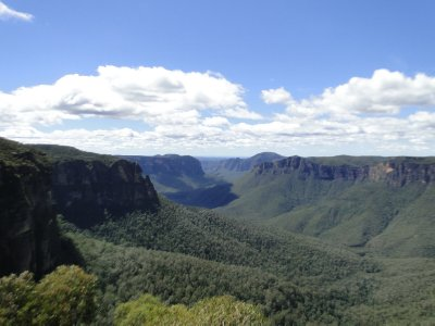 National park Blue Montagne
