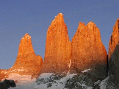 le soleil daigne enfin se lever sur les Torres
