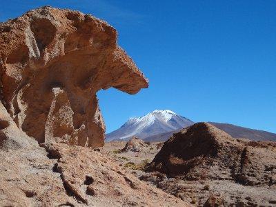 Les volcans des Andes