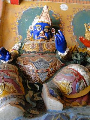 Un gardien de temple