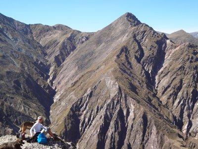 Vue du haut des Andes