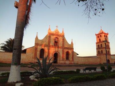 L'église de San Jose de Chiquitos