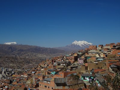 Vue sur la Paz