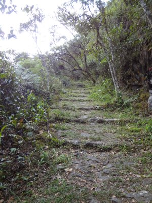 Chemin de l&#39;Inka