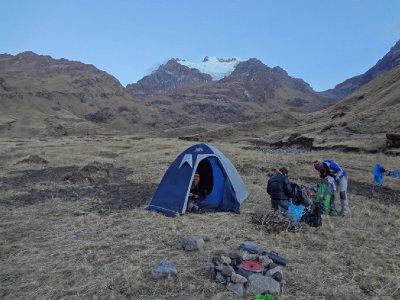 Camping à 4200 m
