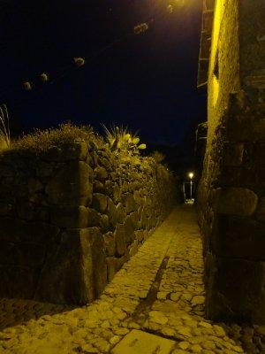 Ollantaytambo la nuit