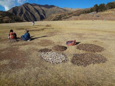 Les ruines de Chichero servent encore!
