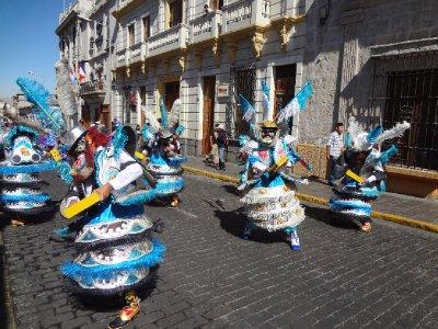jour de fête à Arequipa
