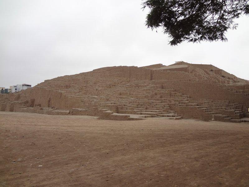 Huaca Pucllana au centre de Lima