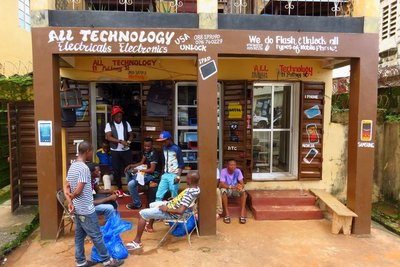 Small Shop in Freetown