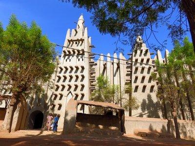 Mopti's Mud Mosque