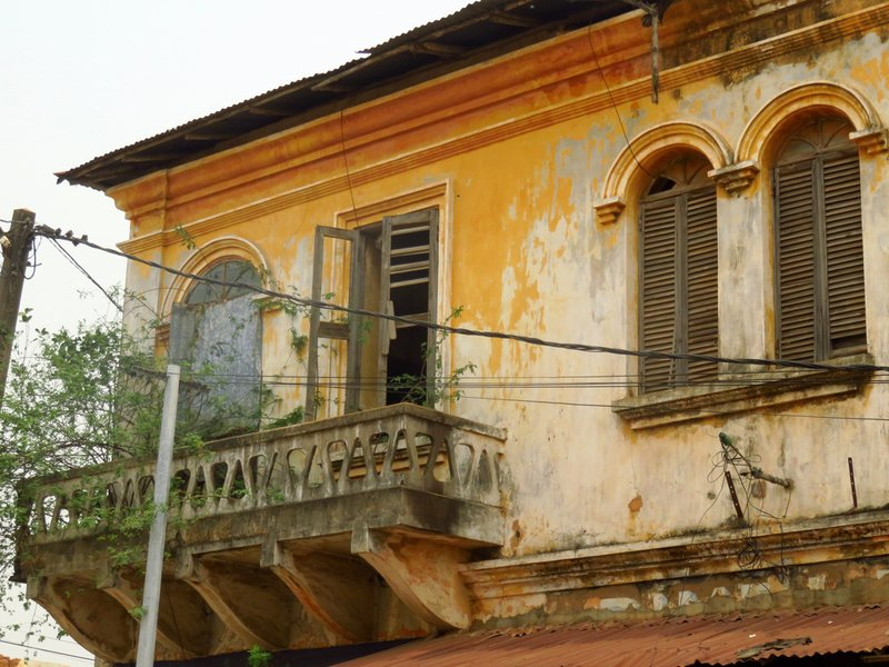 Colonial Balcony