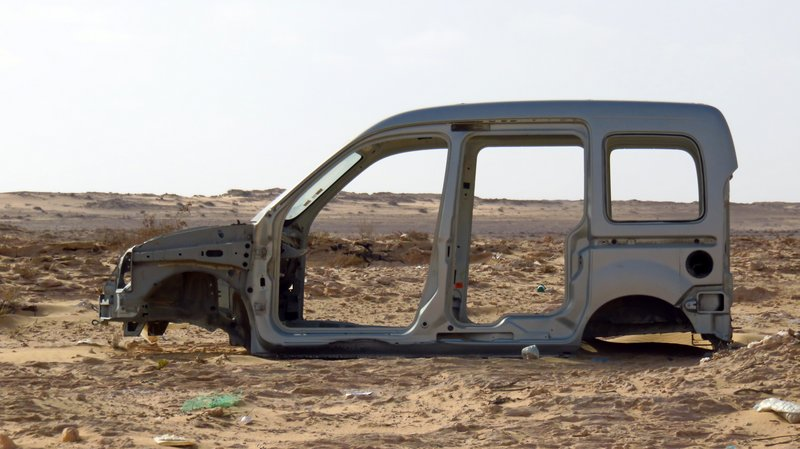 Car Wreck of No Man's Land