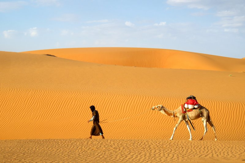 The Sahara from the Brochures