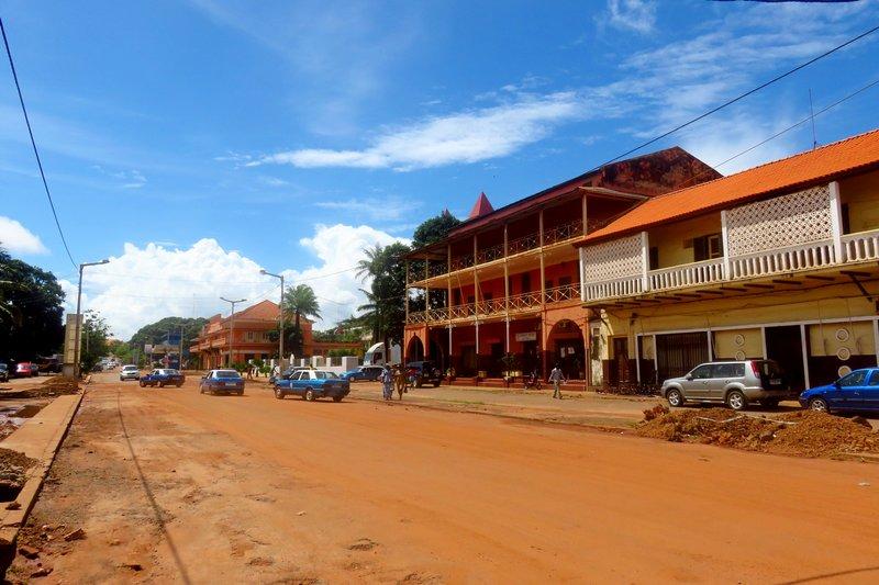 Bissau's Main Street