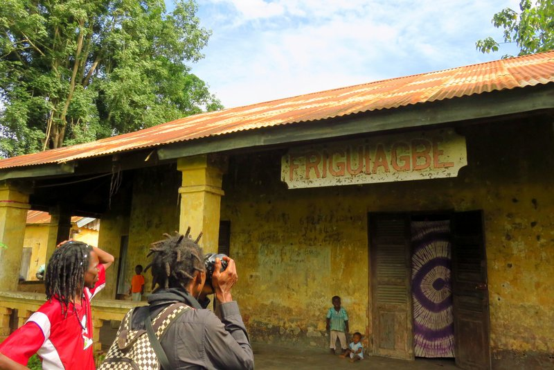 Visiting one of Guinea's First Train Stations