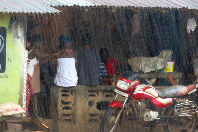 Sheltering from the Terrestial Rains