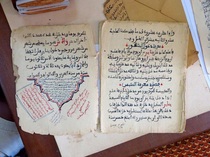 Ancient Astronomical Manuscript