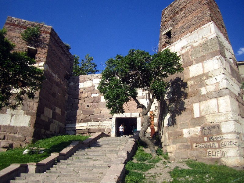 Entrance Ankara Citadel