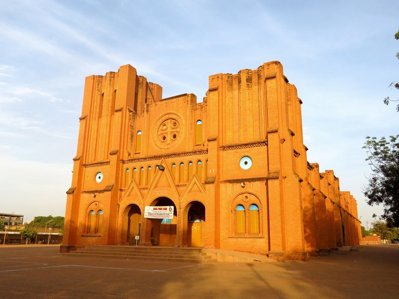 Ouagadougou's Semi-Ruined Cathedral