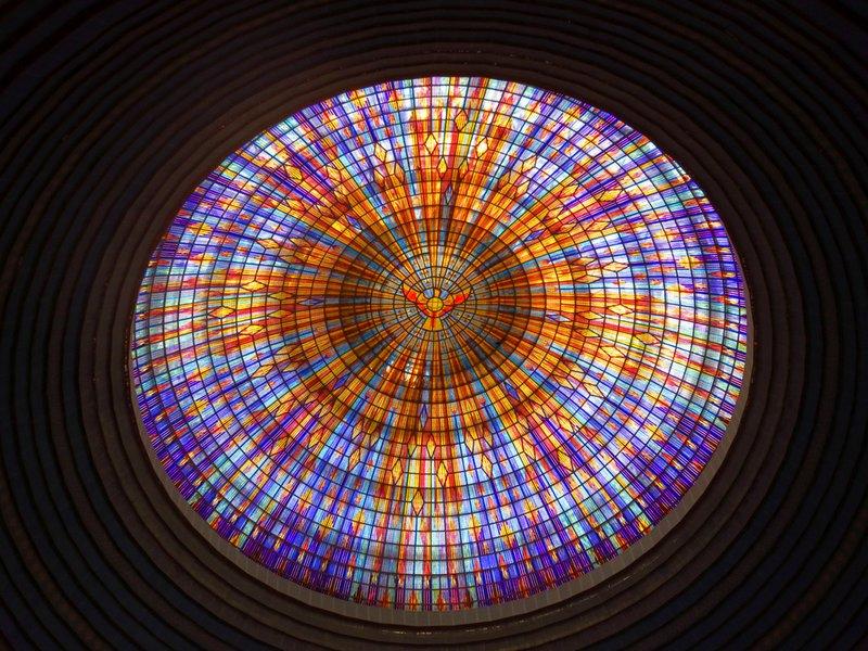 Inside the Basilica's Dome