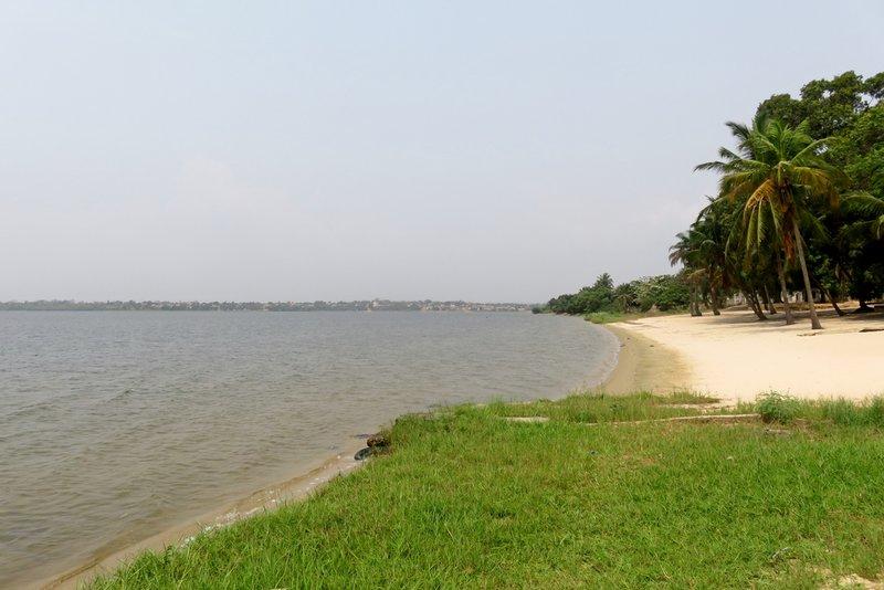 Beach at Lac Togo
