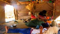 Inside a Nomad Tent