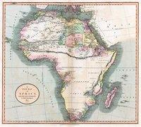 Blank spots in Africa